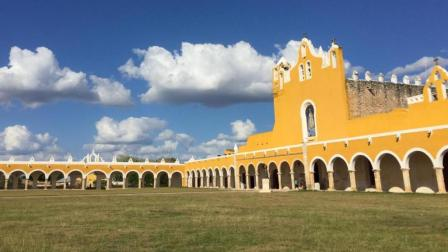 墨西哥小城伊萨马尔 这里从来不缺少色彩