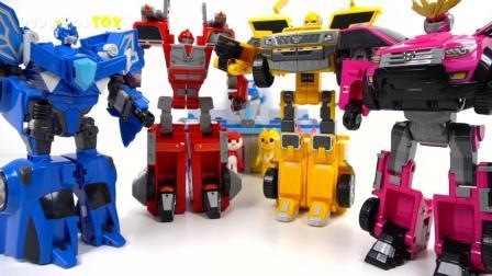 超酷的变形机器人玩具!