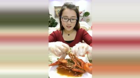 酱爆大海螺美食小吃, 这么大一盆海鲜, 挑战舌尖上的味蕾