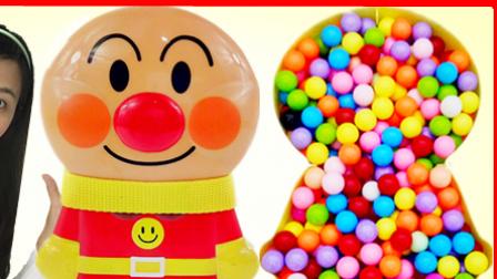 白雪玩具屋 2016 小猪佩奇分享面包超人糖果惊喜玩具