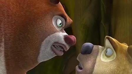 熊出没: 熊二把熊大的竹蜻蜓弄坏啦, 熊大非常生气