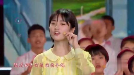 沈月和厦门六中合唱团合作一首《稻香》, 洋溢着青春活力