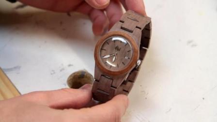 别再傻傻的去商场买手表了, 木工师傅教你做一块, 比买的强多了