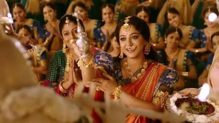 印度电影《巴霍巴利王2: 终结》百度云资源片段, 一言不合就跳舞
