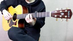 gabriel加百列lr185c单板吉他评测试听 靠谱吉他蔡宁
