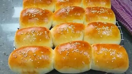 简单又好吃的热狗面包, 自己都可以在家做, 吃着健康又放心
