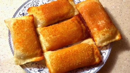 南瓜这样吃, 外皮酥脆, 馅糯软, 做法简单, 营养还不流失, 太香了