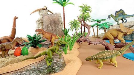 恐龙世界动画片 帮帮龙出动之恐龙探险队 恐龙大作战冰火人