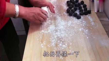 教你在家做黑芝麻汤圆, 不用一滴油, 香甜软糯, 一大锅都不够吃!