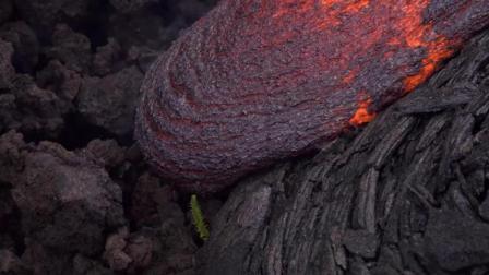 夏威夷火山大爆发, 很多网友好奇火山爆发视频是什么样子呢