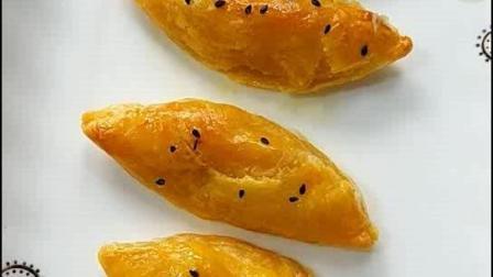 宝宝不爱吃饭怎么办, 教您做一道小点心芒果酥, 孩子特别喜欢吃。