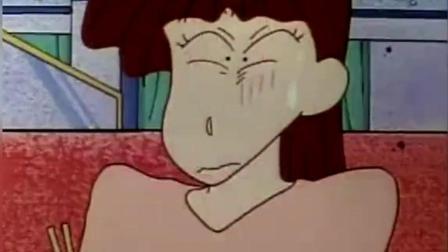 蜡笔小新: 小新擅自点了3份皇家牛肉! 然后自己一口气夹完全部吃掉!