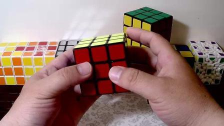 不用背公式三阶魔方桥式解法第四步