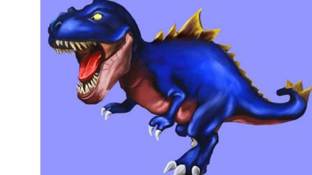 恐龙世界动画片 帮帮龙出动之恐龙探险队 恐龙大作战 霸王龙 剑龙
