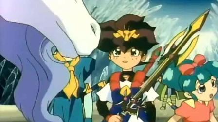 神龙斗士: 变身剑王的过程, 简直不要太帅