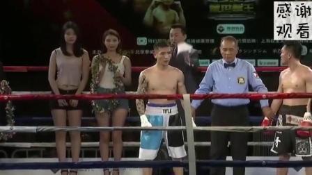 日本拳手发了疯的进攻, 下一秒, 中国拳王就让他后悔!
