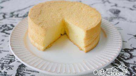 入门基础蛋糕: 一次就成功的原味戚风蛋糕(6寸)