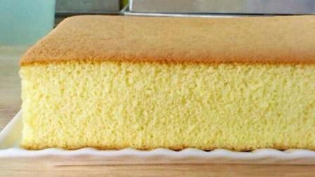无油长崎蛋糕不易消泡的日式做法