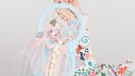 超萌卡哇伊的蓝色Mimo捕梦网 教你亲手制作一个特别有意义的生日手工生日小礼物
