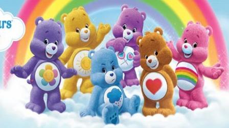 爱心小熊 分享小熊做冰激凌蛋糕 蓝精灵小游戏 赛跑 跳跃 接果子
