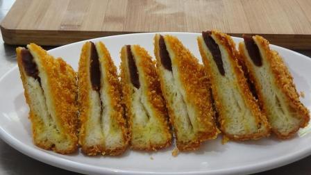 面包片新吃法, 香酥可口, 看着都流口水, 做法超简单!