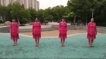 欣赏, 四人跳的广场舞《张灯结彩》