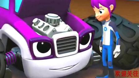 旋风战车队: 史塔拉的引擎好像出问题了, 需要盖碧修理, 真的好牛