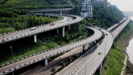 全球最可怕的交通竟在中国! 导航: 前方重庆, 导航结束