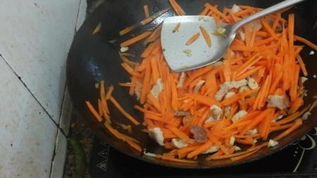 胡萝卜的做法视频 胡萝卜的营养价值 胡萝卜丝炒肉怎么做好吃