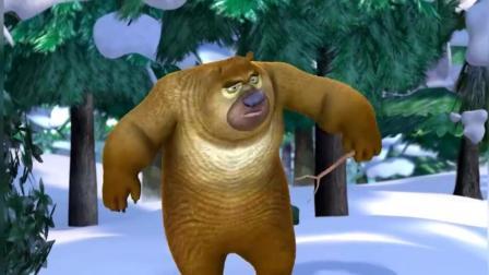 熊出没-熊二帮光头强修好车只是为了让光头强回家过年!