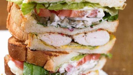 """大厨教你做""""三明治"""", 2元钱成本, 做法简单, 味道秒肯德基"""