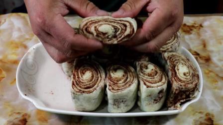 美味豆沙卷教程, 做法超简单, 真是懒人必备, 出锅比馒头好吃多了