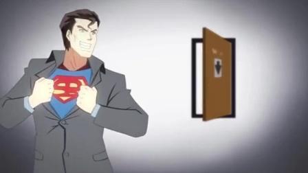 超人上厕所没带纸碰见河神提供金银卫生纸