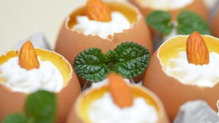 蛋壳布丁, 当鸡蛋遇到了魔法, 变身成好吃的下午茶