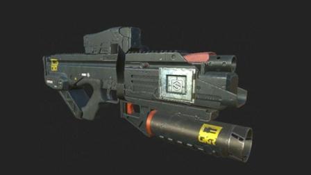 枪支模型制作十丨3D建模丨MAYA教程丨王氏教育集团