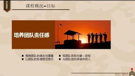军事化拓展训练方案PPT