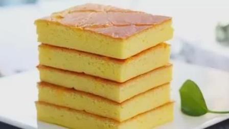 这个黃金蛋糕用了8个蛋, 无半点蛋腥比戚風扎实比海綿轻盈, 好吃