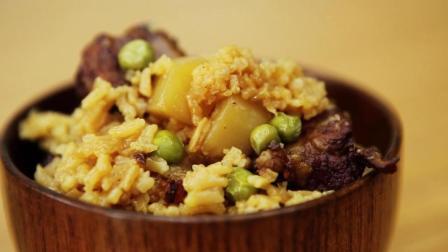 一丢生活 第一季 懒人版排骨土豆焖饭 饭香味美 超级简单