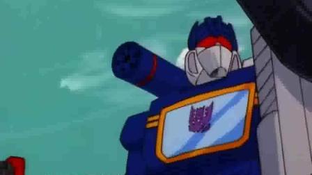 变形金刚G1: 一炮击穿太空卫星, 霸天虎的新型武器威力逆天!