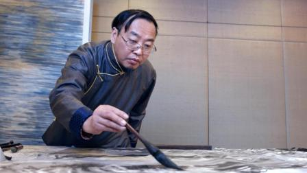 步入书画篆刻大家一一容铁风骨 艺视中国