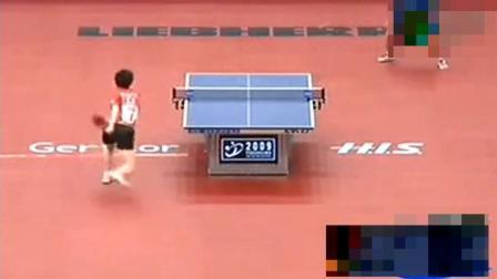 乒乓球: 看张怡宁这样放水, 对手都不能赢, 自己和对方教练都笑了。