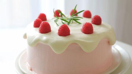 Freesiaa Made 2018 树莓奶油 滴落蛋糕 老夫的少女心已爆棚