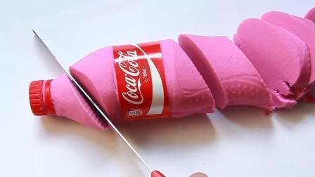 """""""可乐""""居然还有粉红色的? 这一刀切下去恍然大悟, 压力瞬间消失"""
