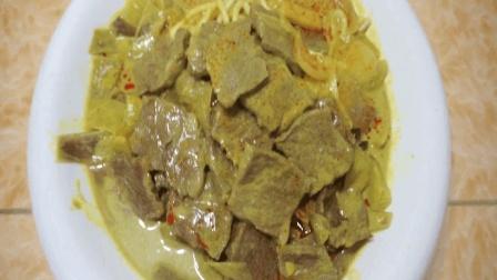 咖喱牛肉的做法, 学会做这道菜, 晚餐和夜宵都是一个不错的选择!