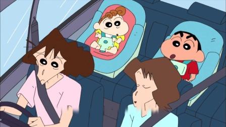 《蜡笔小新 第六季 》22集  梦冴还是这么依赖姐姐,来姐姐家里混吃的哦