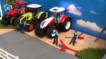儿童农用汽车遥控汽车玩具, 高科技农用播种机玩具