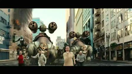 《龙之战争》这些超级怪物排长队和人类武器进行火拼