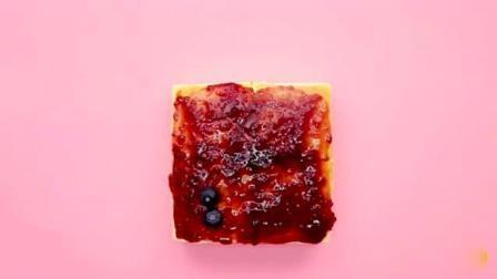 美味食谱: 蓝莓酸奶蛋糕, 好吃不怕胖, 你想品尝品尝吗?