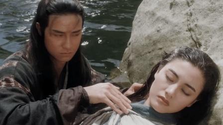 这部经典的香港武侠电影, 很多人都没有看过, 李嘉欣美的倾国倾城