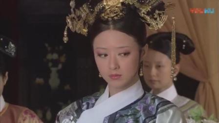 晨起开会皇后要甄嬛单独留下华妃这个白眼翻的简直就是经典